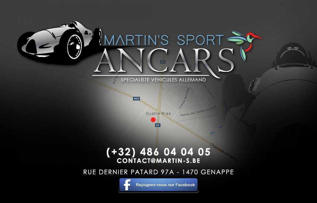 vente de véhicules d'occasion en belgique - Martin's sport ancars